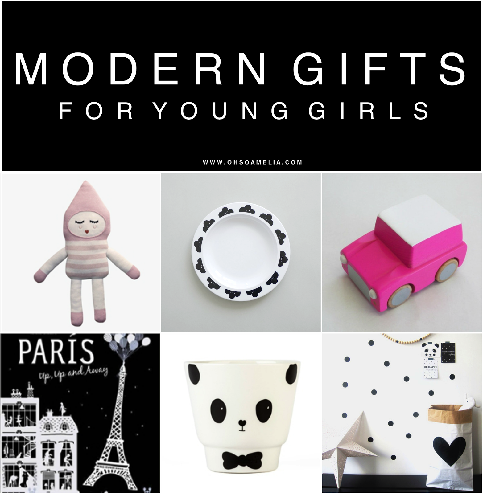 Modern gifts for young girls for the modern family