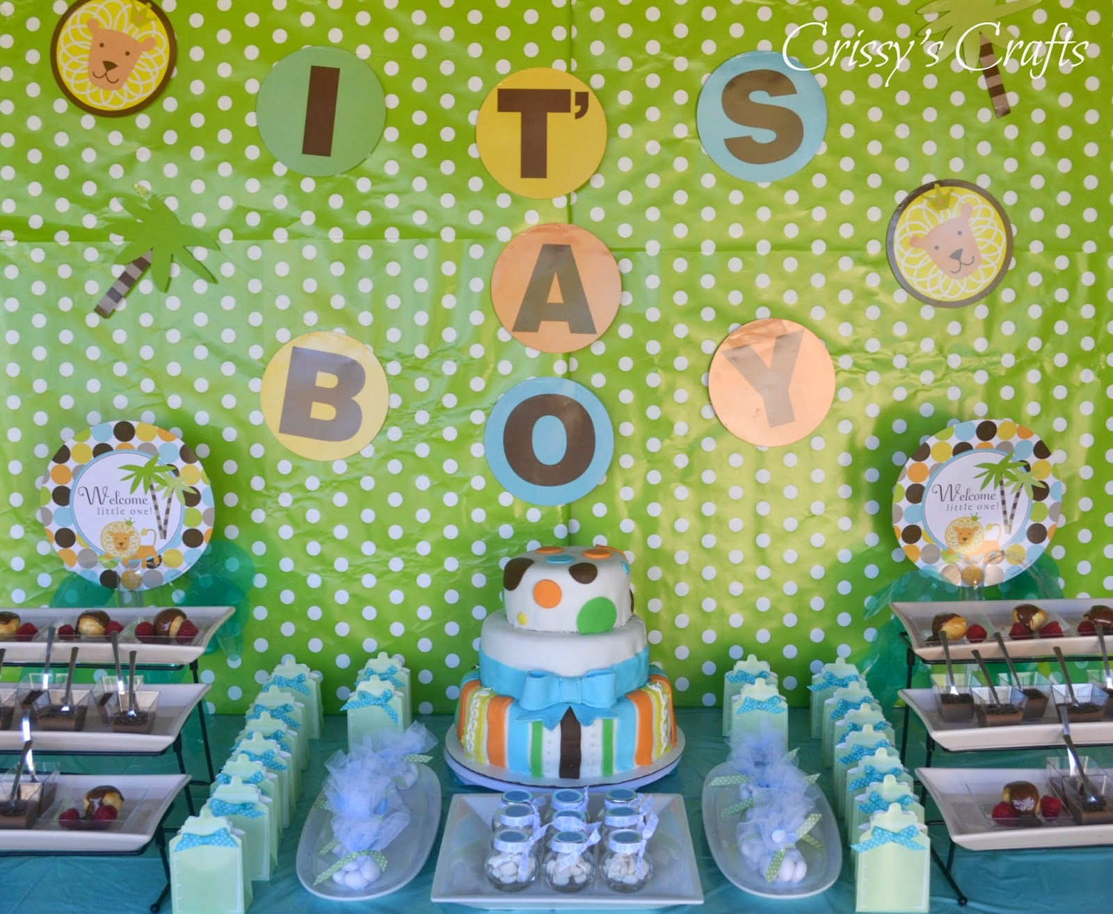 Crissy s Crafts King of The Jungle Baby Shower