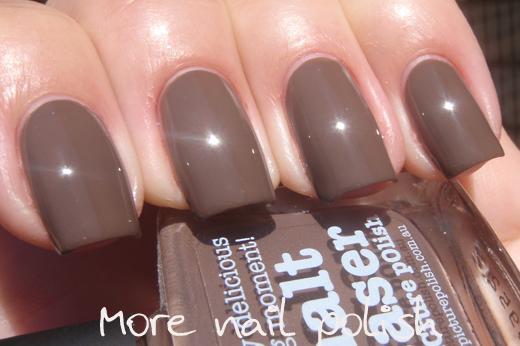 polish - black beige