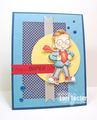 Have a Super Day card-designed by Lori Tecler/Inking Aloud-stamps from SugarPea Designs