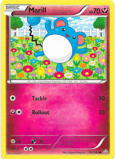 Marill Primal Clash Pokemon Card