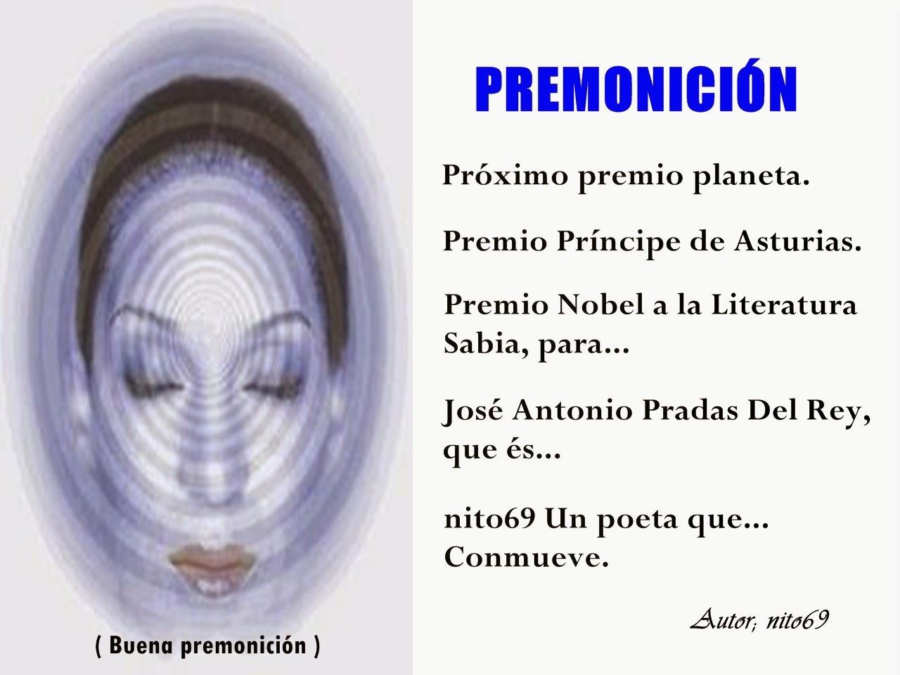 PREMONICIÓN ( buena premonición ).