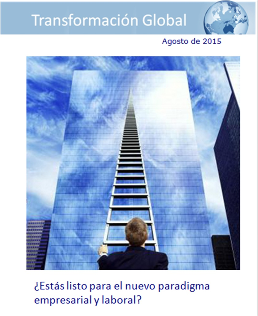 """Revista """"Transformación Global"""" Agosto 2015"""