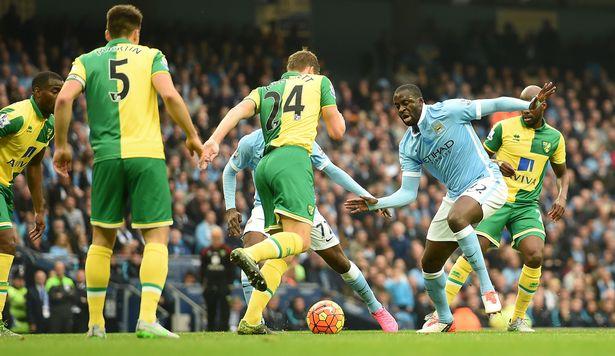 Hasil Pertandingan Manchester City 2-1 Norwich City