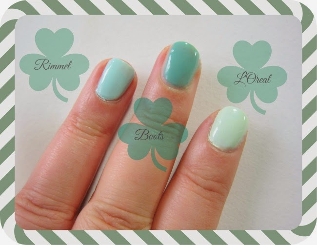Green nails trend for SS14