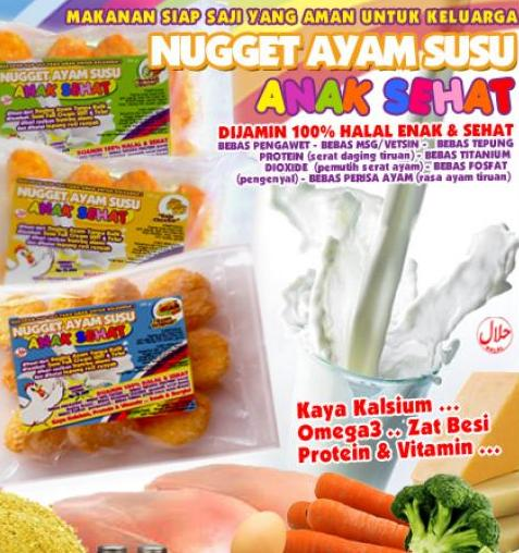 Nugget Ayam Brokoli Keju Dessy Mardiana: Yummy N Healthy