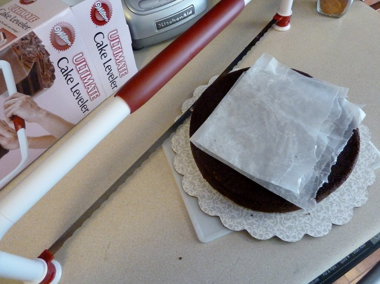 ... Apron....Will Bake: Mile-High Chocolate Cake with Vanilla Buttercream