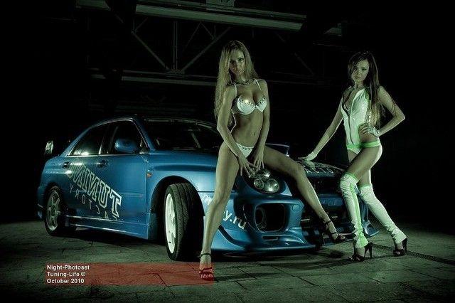 Фото спорт авто и девушки
