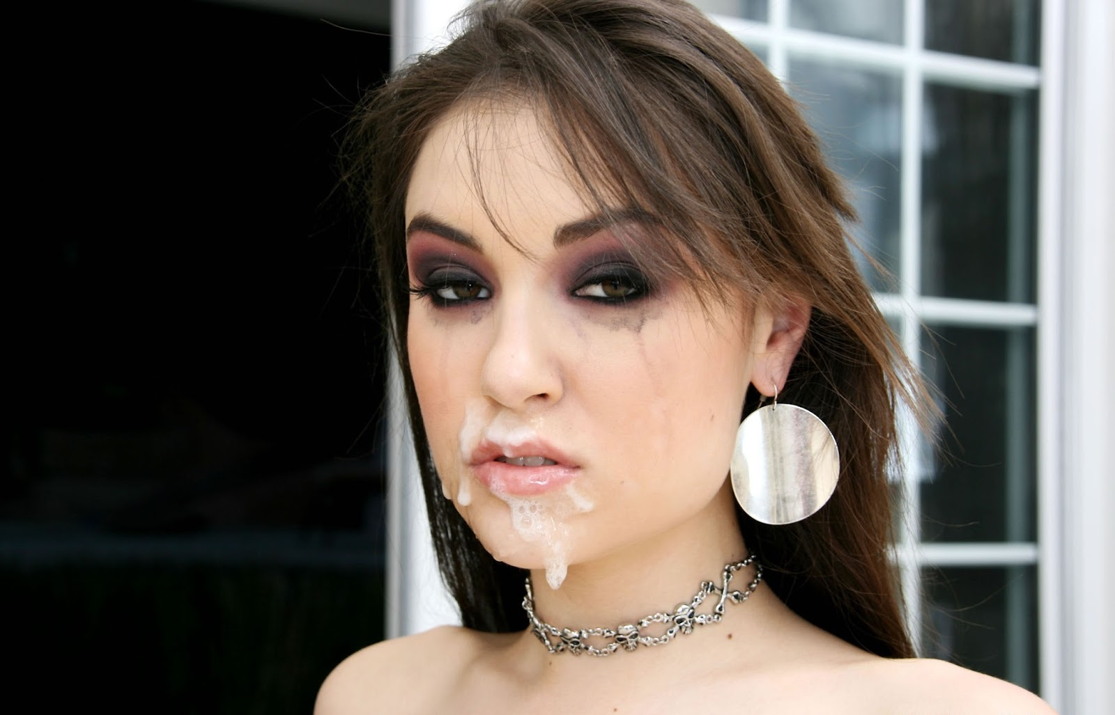 Sasha grey on eating sperm