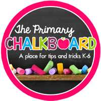 Follow Primary Chalkboard