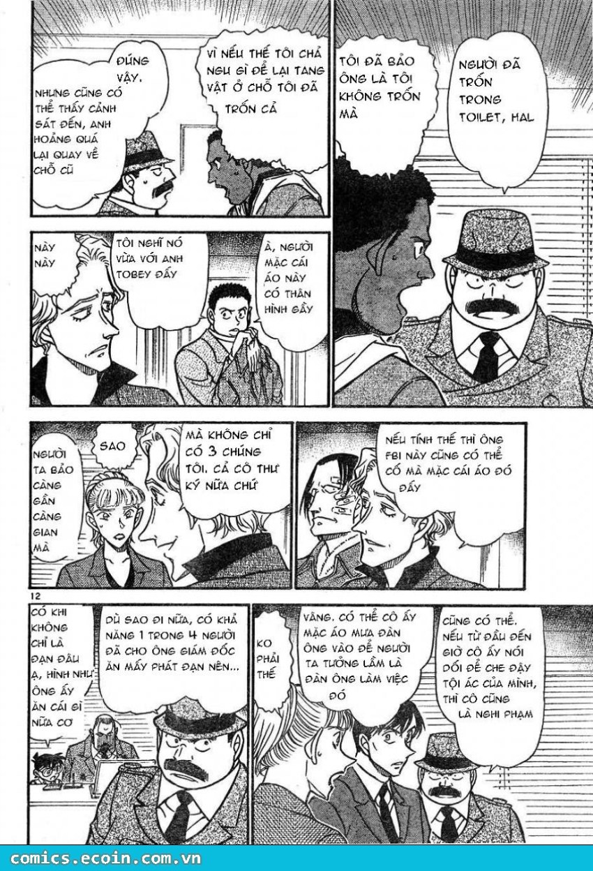 Detective Conan - Thám Tử Lừng Danh Conan chap 606 page 12 - IZTruyenTranh.com