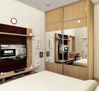 menata kamar tidur minimalis agar terasa lega menata