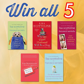 Giveaway - Lisa Scottoline Five Pack!