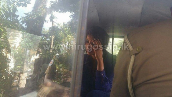 hot Sri Lankan actress aksha sudari and her boyfriend taken into police custody