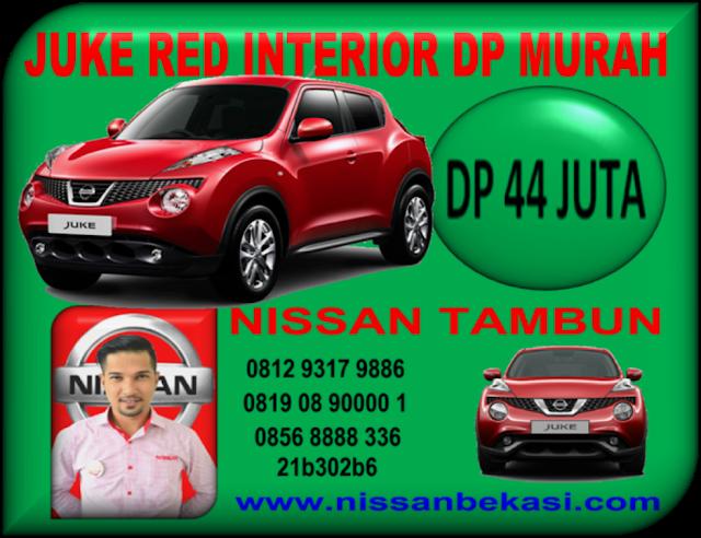 NISSAN JUKE RED INTERIOR DP MURAH