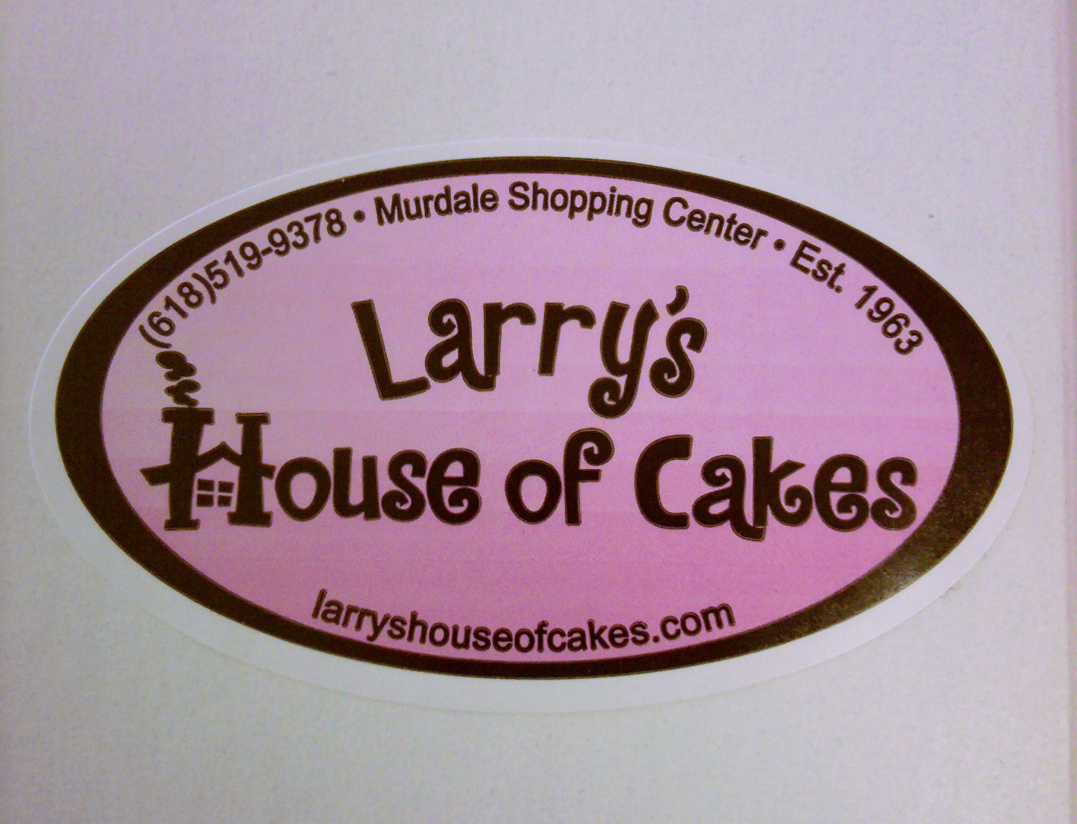 Today At Work We Had A Drug Rep Bring Us Larrys House Of Cakes Famous Pink Frosted Sugar Cookies