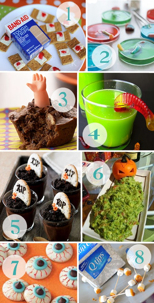 sunshine and bones kid friendly halloween treats