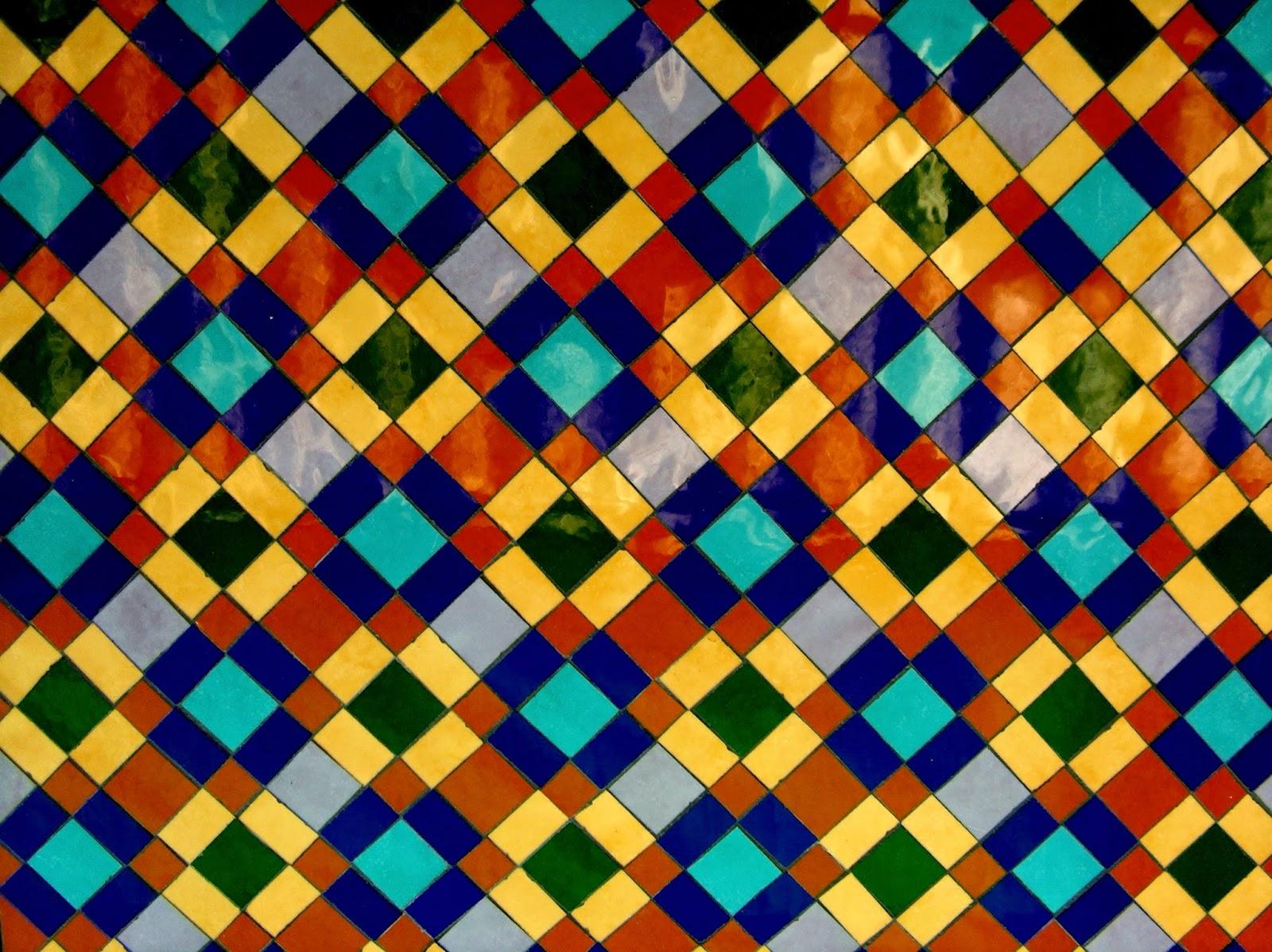 Ricardotecela fondos geometricos y fusi n en el mosaico - Mosaico de colores ...