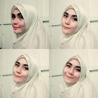 Hati-Hati Berboncengan ! Muslimah Cantik Ini Terjatuh di FlyOver
