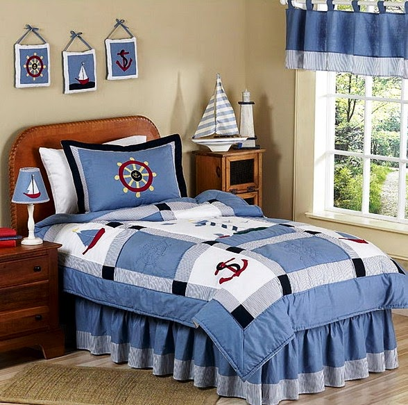 Bring The Cruise To Your Bedroom With Nautica Theme