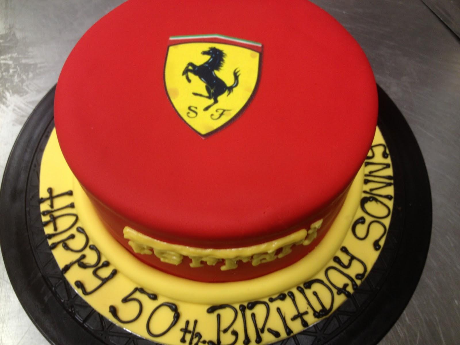 Ferrari Cake Emilys Sweet Treat