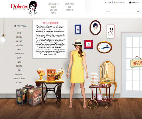 Dolores Promesas tienda online e shop