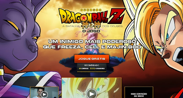Dragon Ball Z battle of Gods o jogo