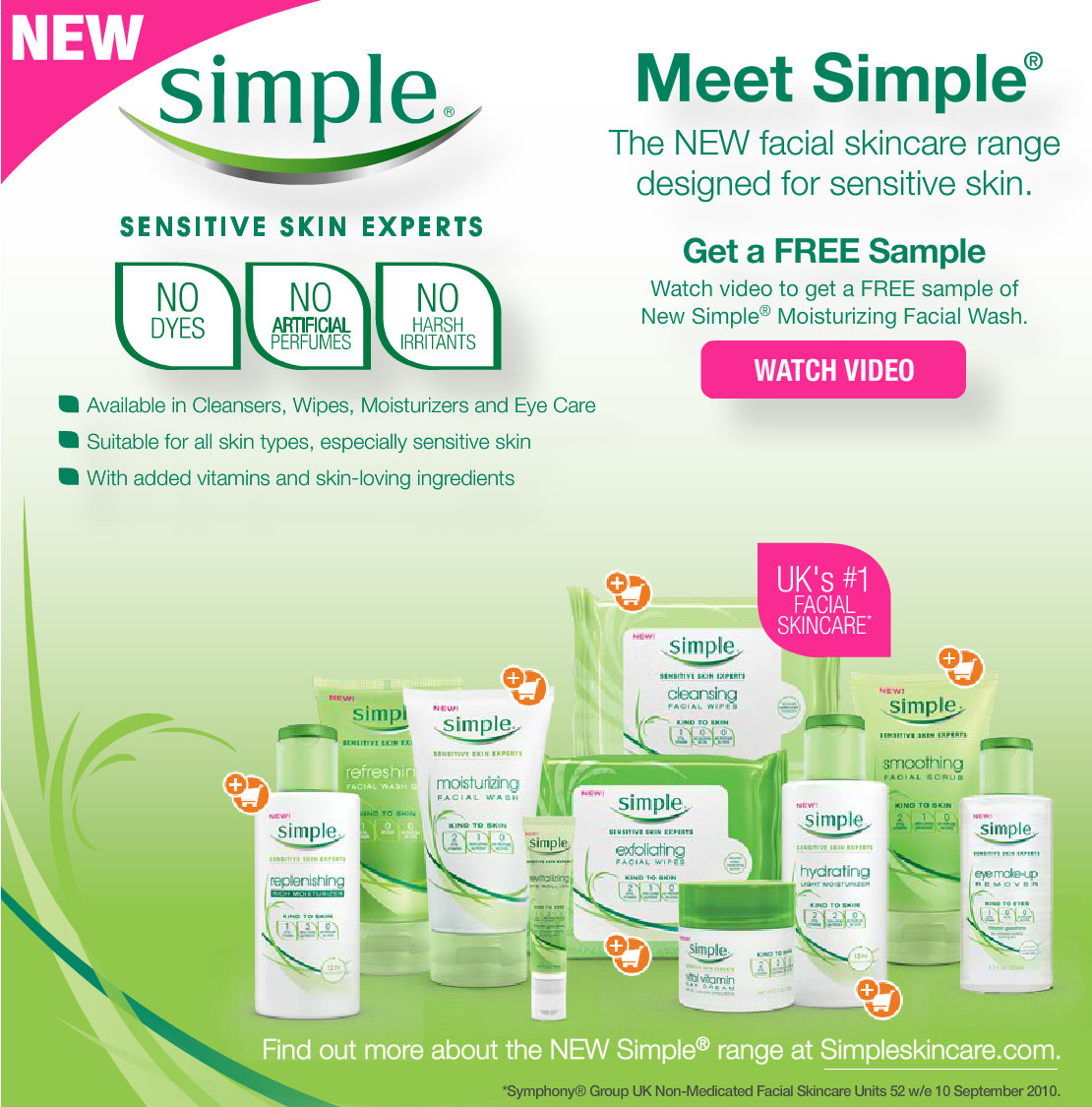Save $2 off Simple Cleanser or Moisturizer Coupon! Save $ 2 off Simple Cleanser or Moisturizer Coupon! You can Also Follow Us On Facebook, Twitter, Pinterest and Google+ for 24 hour freebie updates and more!