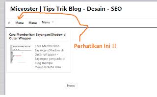 Cara Mengubah Nama Menu/Navigasi Blog