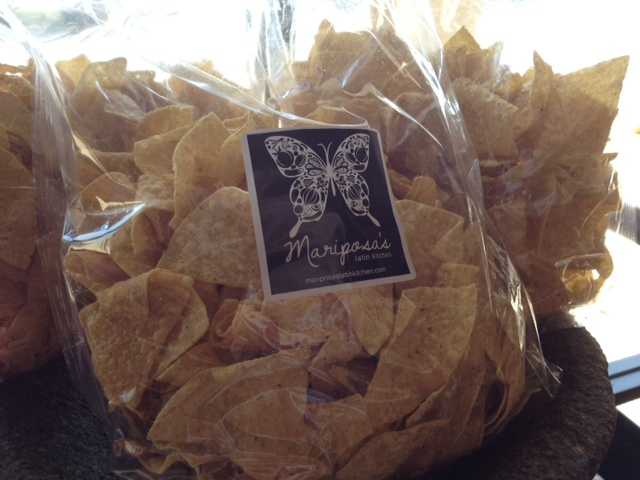 the ink well: Mariposas Latin Kitchen Food Label