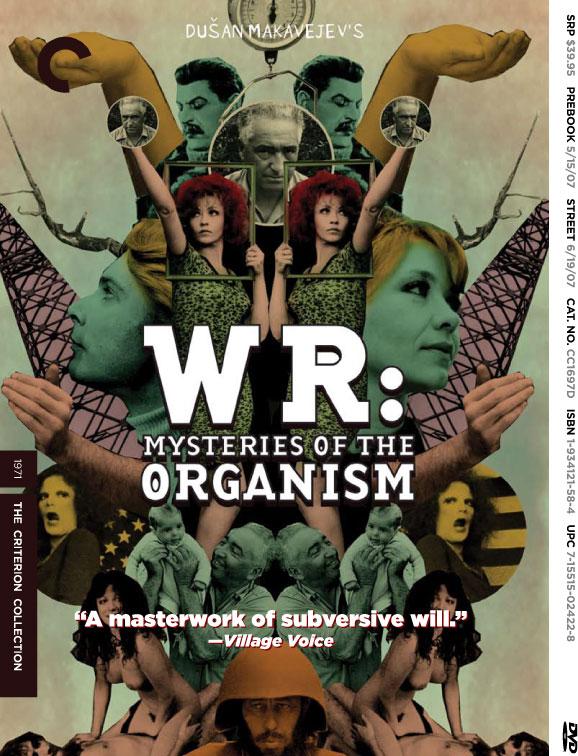 W.R. Misterije organizma | W.R.: Mysteries of the Organism (1971) Dusan Makavejev