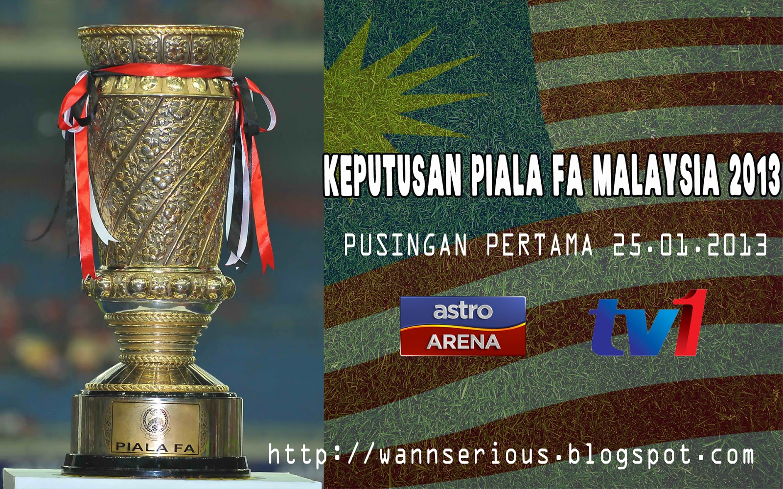 Home > Sukan > Keputusan Terkini Piala FA Malaysia 25 Januari 2013