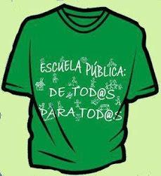 La educación debe ser gratuita y pública.