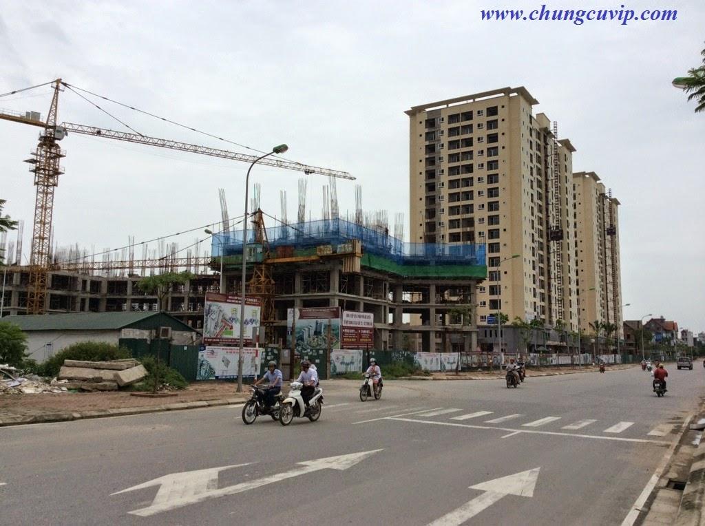 Chung cư CT1 Trung Văn - Vinaconex3, Tiến độ xây dựng