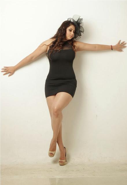 Hot Namitha Short Dress Showing Sexy Thigh - Indian Desi Actress ...