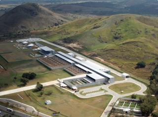 Vista aérea do Centro Nacional de Tiro Esportivo