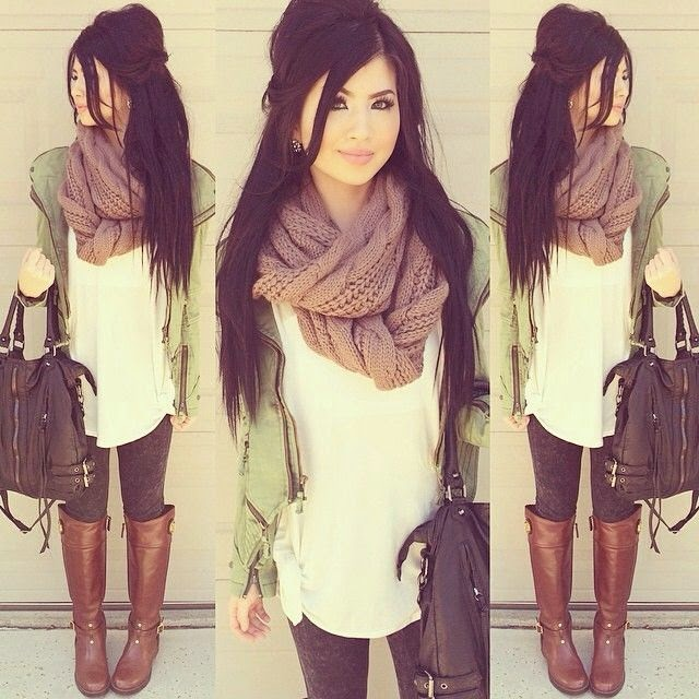 beautiful outfit for winter