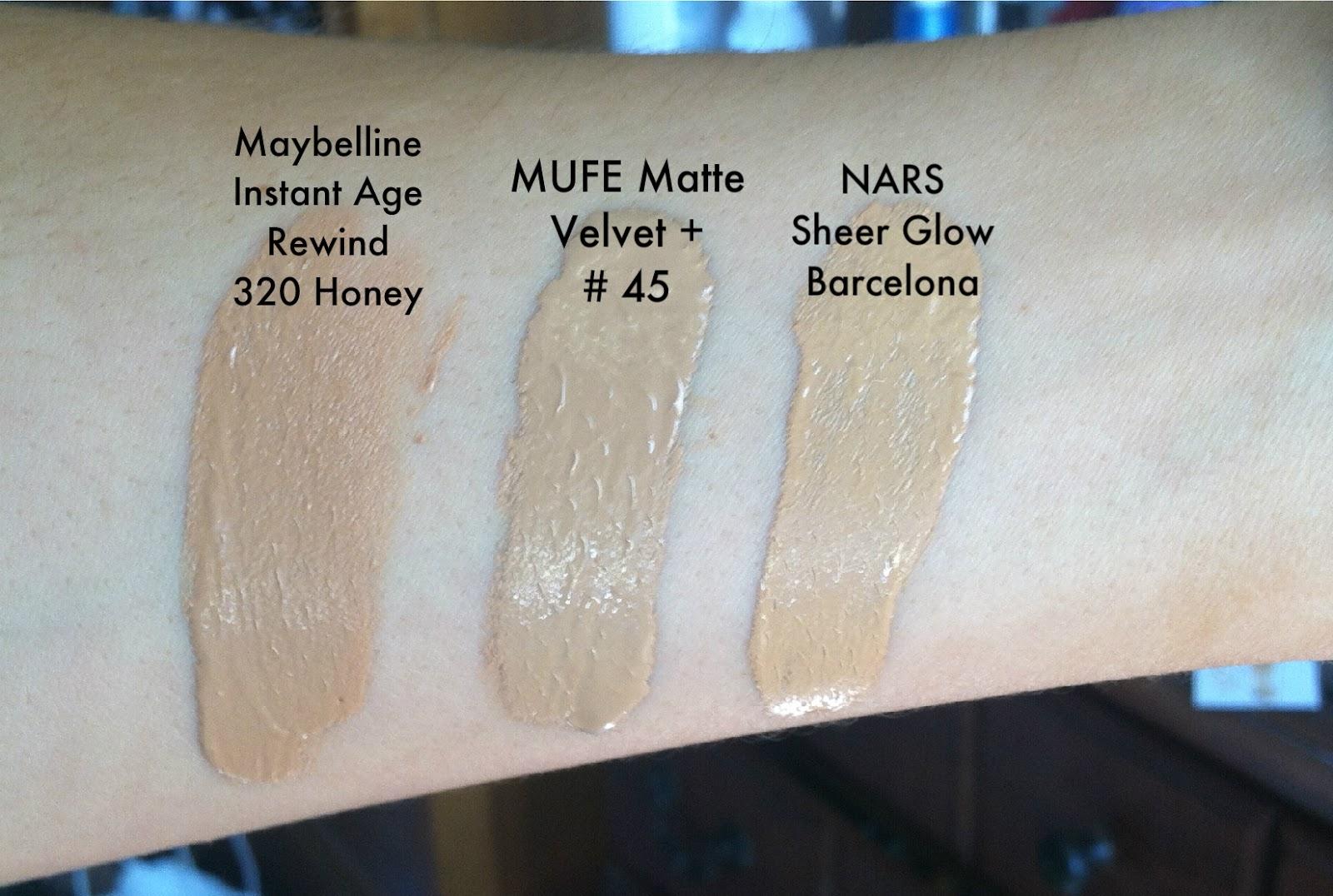 Foxy Lady Beauty: Maybelline Instant Age Rewind Eraser Foundation ...