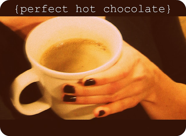 Erin Morris: Perfect Hot Chocolate