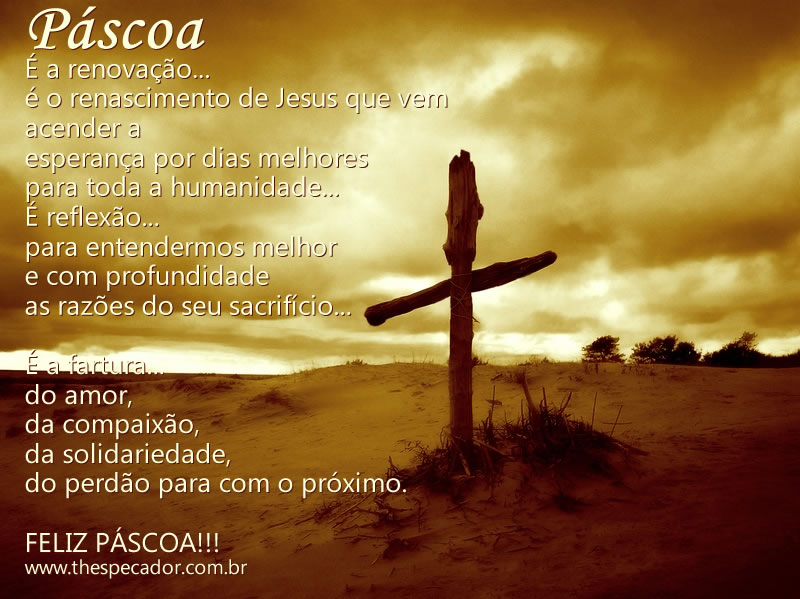 Mensagem de Páscoa Gospel
