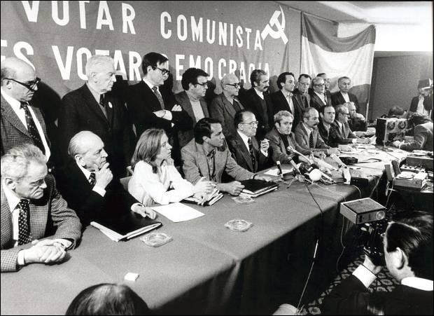 Resultado de imagen de Legalización del PCE