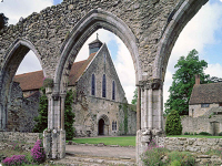 Beaulieu Abbey New Forest Hampshire UK