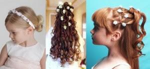 penteados para daminhas