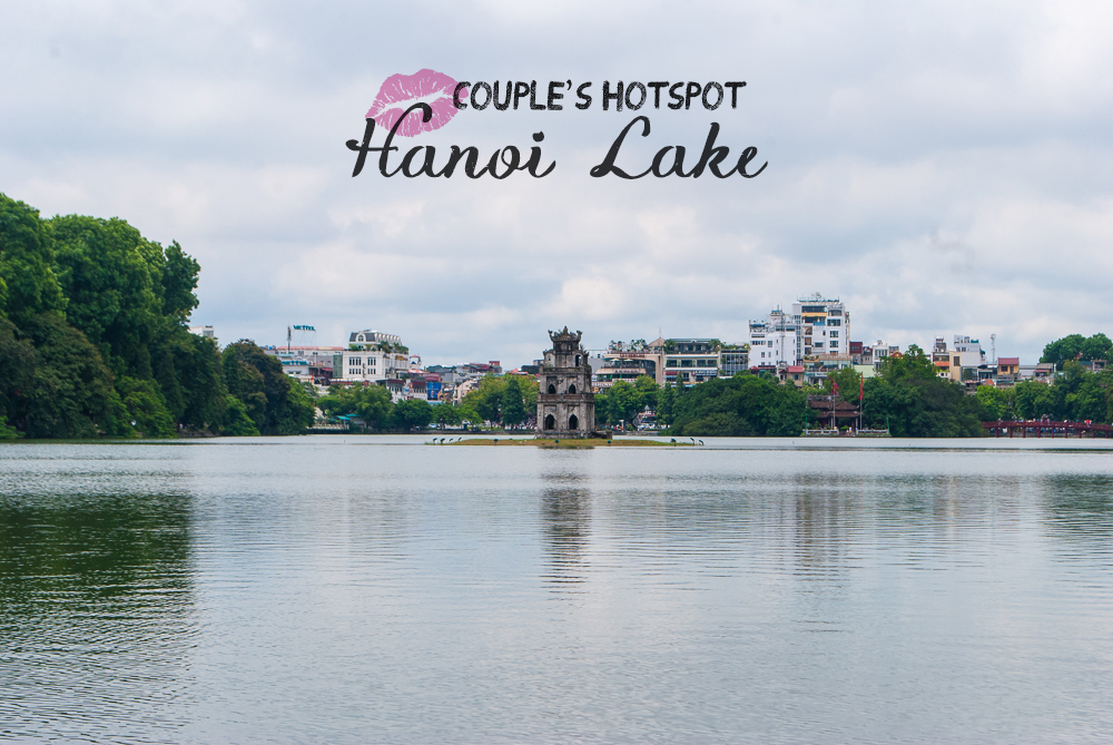 image of the whole hanoi lake
