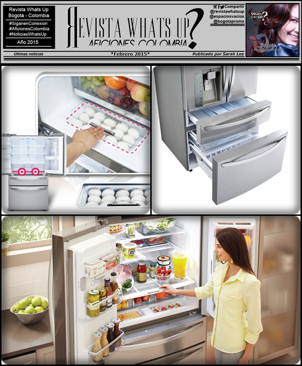 LG-lanza-nevera-cuatro-puertas- cajón-temperatura-personalizable