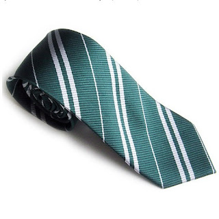 Nice New Harry Potter Slytherin Tie Costume Accessory Cosplay Green