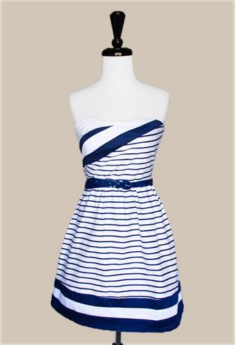 greer loves nautical wedding inspiration bridesmaids With nautical wedding dresses