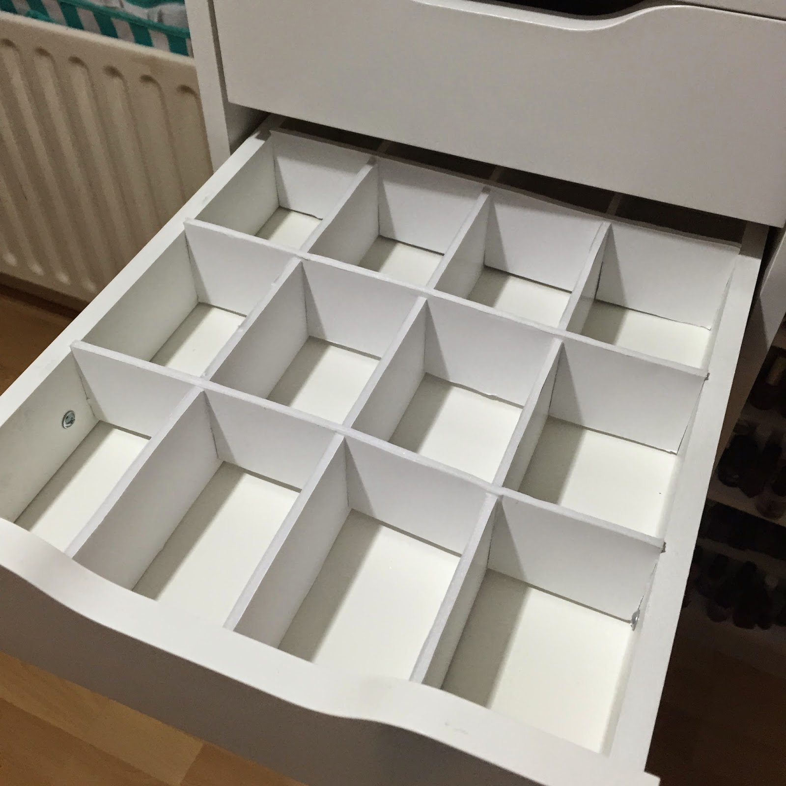 Makeup Storage Inspiration #1- Drawer Dividers (feat. Ikea Alex ...