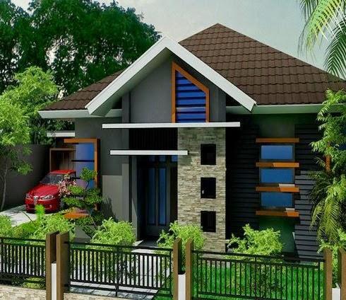 Desain Atap Rumah Minimalis 2