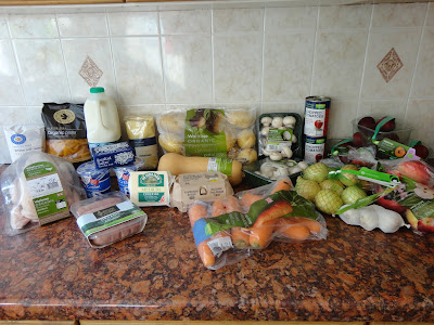 Organic Shopping Meal Plan